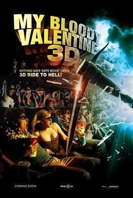 My Bloody valentine 3D Poster :  my bloody valentine 3d slasher movie patrick lussier slasher